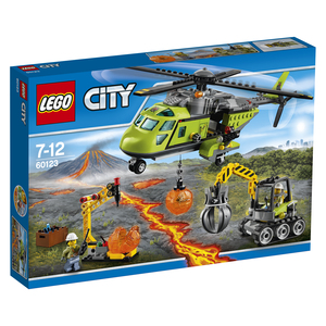 Lego - Lego City Volcano In/Out Supply Helicopter (60123) | Dodax.es