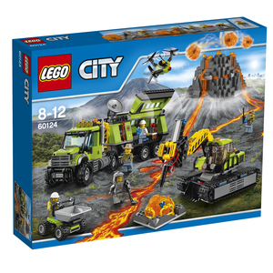 Lego - Lego City Volcano Exploration Base (60124) | Dodax.at