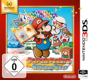 Paper Mario: Sticker Star Nintendo Selects Edition; German Version - 3DS | Dodax.com