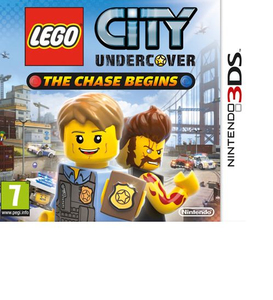 Lego City Undercover: The Chase Begins Nintendo Selects Edition; German Version - 3DS | Dodax.pl