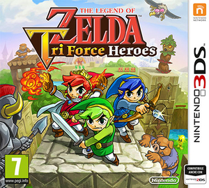 The Legend of Zelda: Tri Force Heroes - 3DS | Dodax.fr