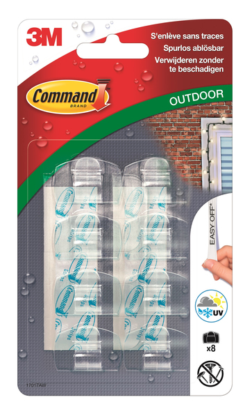 3M Command Outdoor Deko-Clips | Dodax.ch