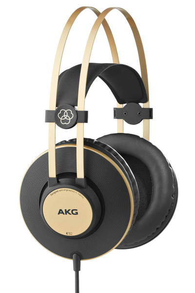 AKG - Headset 3.5/6.3 mm 16-22000 Hz 113 dB 3 m 32 Ω (K92) | Dodax.ch