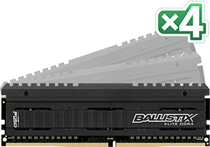 Crucial Ballistix Elite Kit 16GB DDR4 3200MHz memory module | Dodax.co.uk