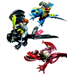 Spin Master - Dreamworks Dragons with Riders Figures Assortment (6024162) | Dodax.at