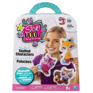 Cool Maker Sew Cool Character Plush Kit | Dodax.ch