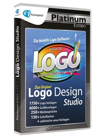 Logo Design Studio V5, 1 CD-ROM | Dodax.ch