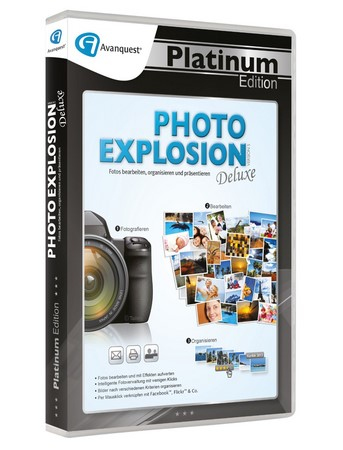 Photo Explosion 5 Deluxe, 1 CD-ROM | Dodax.at