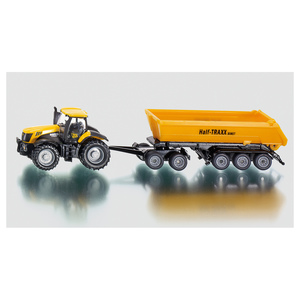 Siku JCB Tractor with dolly and tipping trailer | Dodax.ca