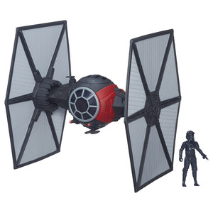 Hasbro - Star Wars: The Force Awakens First Order Special Forces TIE Fighter with Pilot (B3920) | Dodax.co.uk