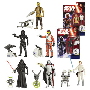 Hasbro - Star Wars Episode 7 Forest and Space Mission Figures (32638295) | Dodax.nl