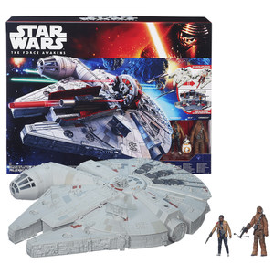 Hasbro - Star Wars Episode 7 Battle-Action Millennium Falke (B3678) | Dodax.ch