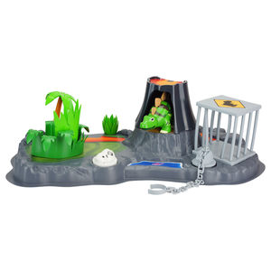Silverlit - DigiDinos Adventure Playset with Apollo Stegosaurus, Vulcano, Cage and Forest Habitat (88417) | Dodax.fr