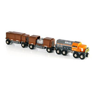 Image of Brio - Boxcar Train (33567)