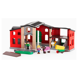 Image of BRIO Horse Stable