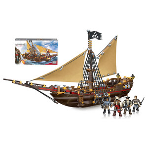 Mega Bloks - Assassin's Creed Kanonenboot-Entermanöver (DBJ05) | Dodax.de