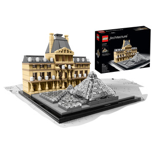 Lego - Lego Architecture Louvre (21024) | Dodax.co.uk