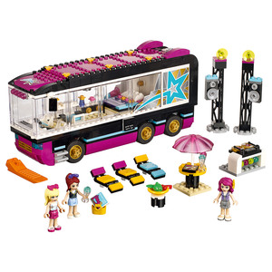 Lego - Lego Friends Pop Star Tour Bus (41106) | Dodax.co.uk