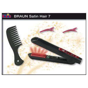 Haarglätter Braun Satin Hair | Dodax.at