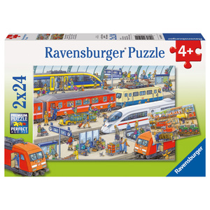 Puzzle Trubel am Bahnhof | Dodax.at