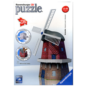 Windmühle (Puzzle) | Dodax.at