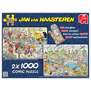 Jan van Haasteren 2in1 Food Frenzy puzzel