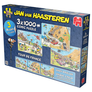 3-in-1 Jan van Haasteren Tour de France