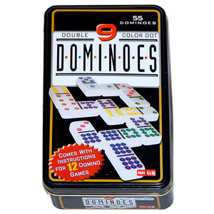 Domino Color 9, 55 Steine | Dodax.es