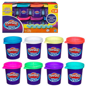 Play-Doh - Play-Doh Plus 8er Pack (A1206) | Dodax.at