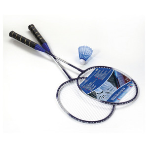 Happy People Badminton-Set, 2 Schläger, 1 Ball | Dodax.ch