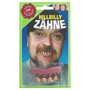 Zähne Hillybilly | Dodax.at