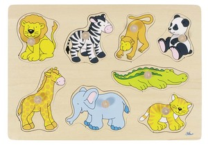 Steckpuzzle Zootiere | Dodax.at