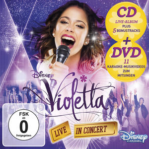 Violetta: Live In Concert. Staffel.2/2, 1 Audio-CD + DVD (Deluxe Edition) | Dodax.ch