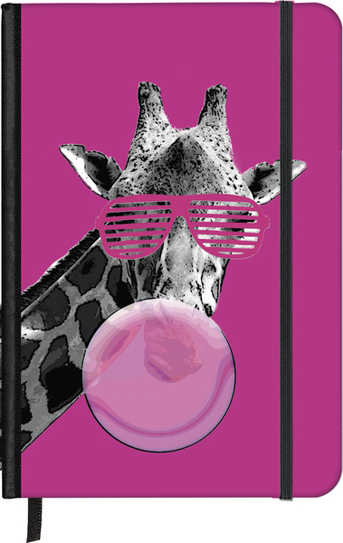 SoftTouch Notebook Cool Giraffe 16x22 | Dodax.nl