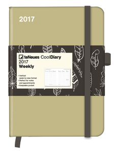 Cool Diary Sand & Feather White 2017 | Dodax.nl