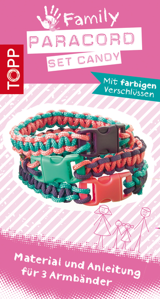 Paracord Family Set Candy | Dodax.de