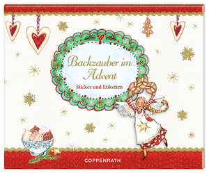 Backzauber im Advent, Sticker und Etiketten | Dodax.at