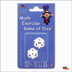 The Math-Exercise-Game of Dice   Dodax.fr