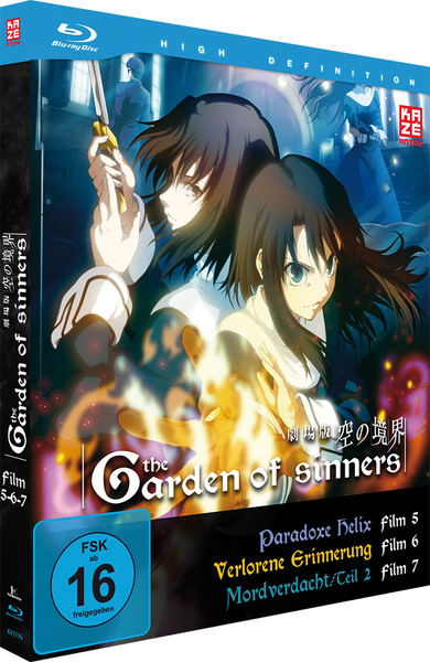 Garden of Sinners. Vol.3, 1 Blu-ray | Dodax.at