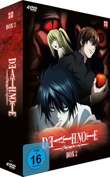 Death Note. Box.2, 4 DVDs | Dodax.at