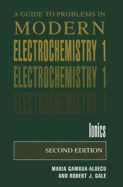 A Guide to Problems in Modern Electrochemistry 1 | Dodax.at