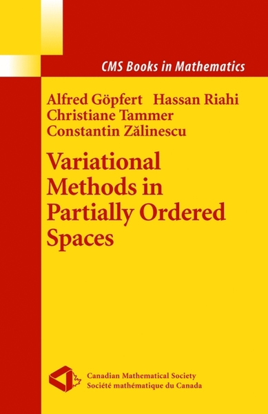 Variational Methods in Partially Ordered Spaces   Dodax.ch