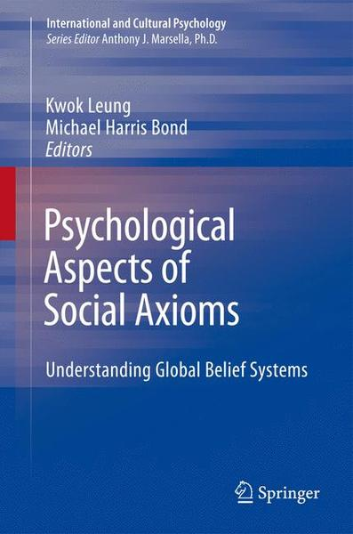 Psychological Aspects of Social Axioms | Dodax.ch