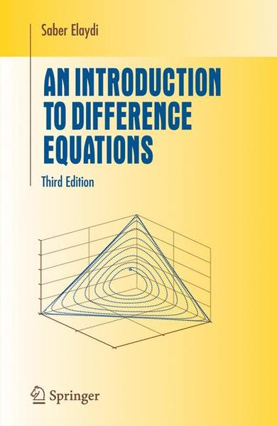 An Introduction to Difference Equations | Dodax.ch