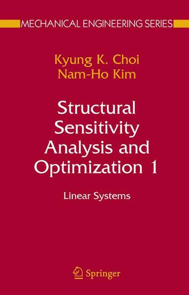 Structural Sensitivity Analysis and Optimization 1. Vol.1 | Dodax.ch