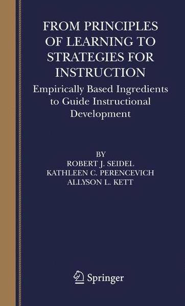 From Principles of Learning to Strategies for Instruction | Dodax.ch