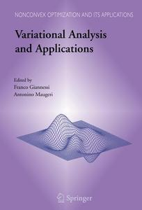Variational Analysis and Applications   Dodax.ch