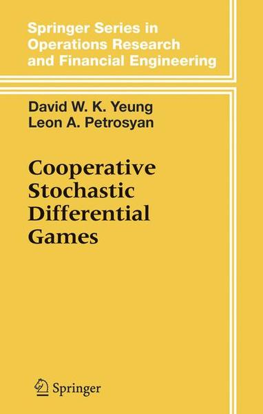 Cooperative Stochastic Differential Games   Dodax.ch