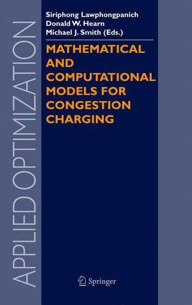Mathematical and Computational Models for Congestion Charging   Dodax.ch