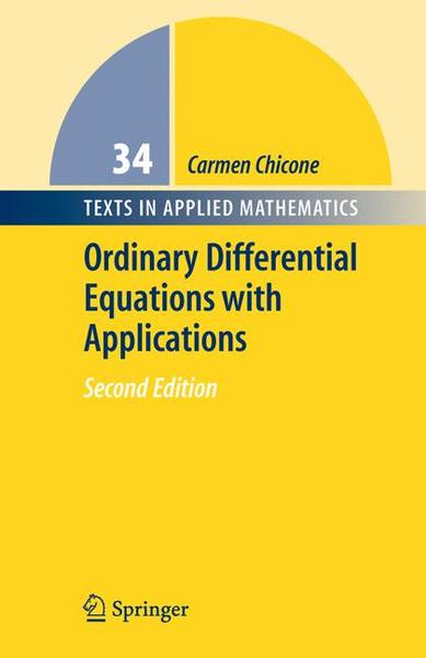 Ordinary Differential Equations with Applications | Dodax.de